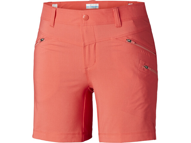 Columbia Peak to Point Pantaloncini Donna, rosso